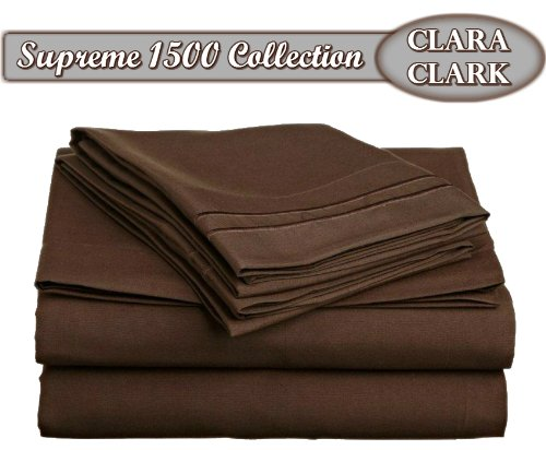 clara-clark-supreme-1500-collection-4pc-bed-sheet-set-queen-size-chocolate-brown