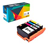Do it Wiser HP 902XL Compatible Ink for HP OfficeJet Pro 6978 Ink 6968 6950 6962 6960 6961 6963 6964 6965 6966 6970 6971 6975 6976 6954 6979 6951 6958 6974-4 Pack