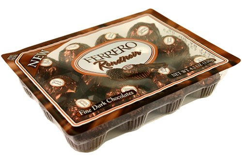 Ferrero Rondnoir Fine Dark Chocolates Box Net Wt 42 Oz 120 G