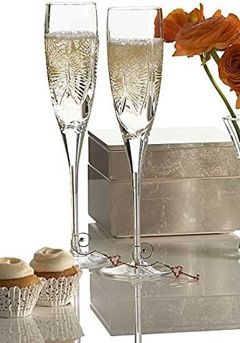 Waterford Love Happiness Champagne Flute (Set of