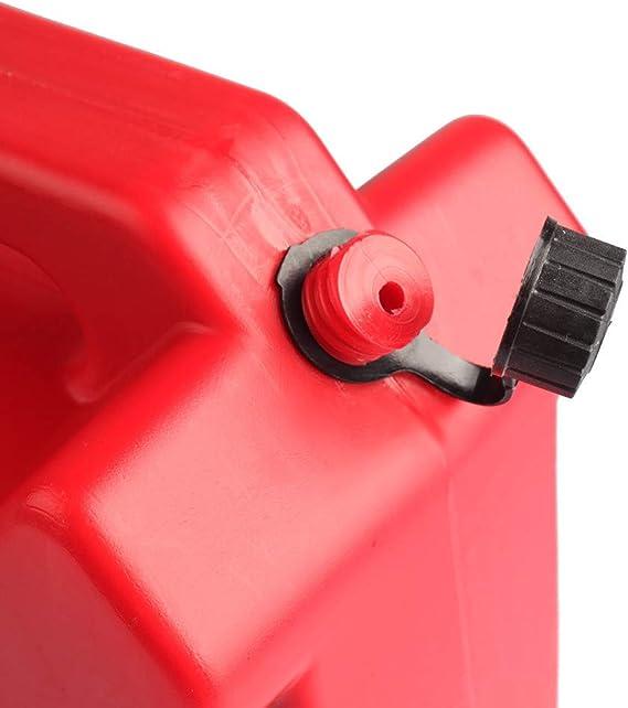 Janedream 5l Auto Motorrad Benzintank Benzinkanister Benzin Dosen Anti Static Kunststoff Ersatz Diesel Ölfass Barrel Auto