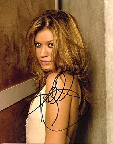 Kelly Clarkson AMERICAN IDOL In Person Autographed Photo (Photo Kelly Clarkson Christmas)