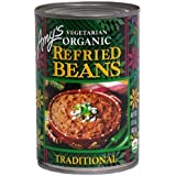 Amy's Vegetarian Organic Traditional Refried Beans -- 15.4 oz