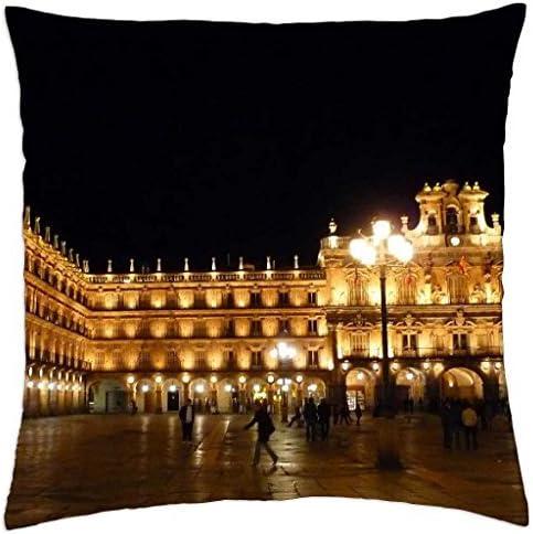 Plaza Mayor de Salamanca, España – Funda de almohada manta (16