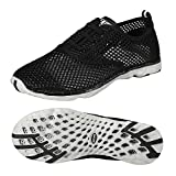 Zhuanglin Women's Mesh Slip On Water Shoes Size 6 B(M) US BlackGrey