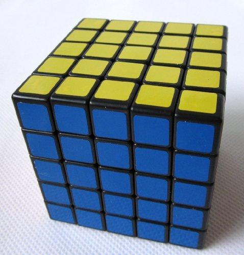 ShengShou ® 5x5x5 6.5cm V III Speed Cube Puzzle Black