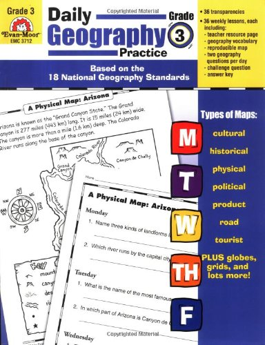 Daily Geography Practice, Grade 3: Evan-Moor Educational ...