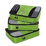 eBags Medium Packing Cubes - 3pc Set (Grasshopper)