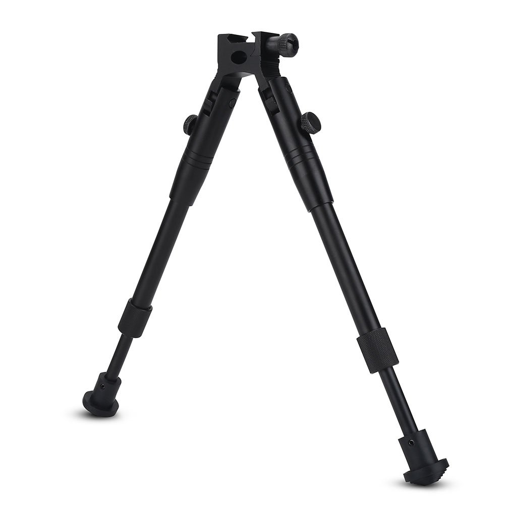 Hunting Rifle Bipod Tactical 6'' To 9'' Bipod Adjustable Spring Return Bipod Swivel Holder Mount for Rifle Hunting by Vbestlife (Image #5)