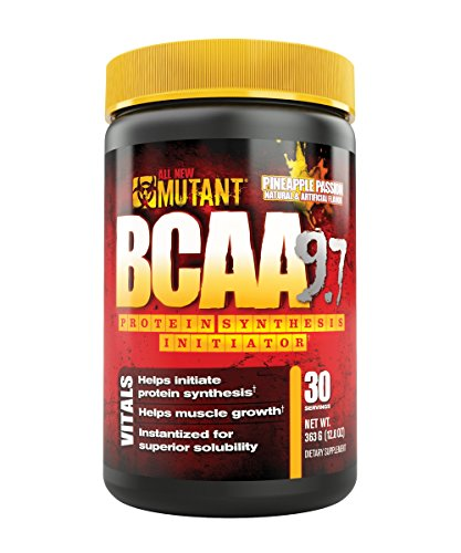 Mutant Bcaa 9.7 Supplement, Pineapple Passion, 0.76 Pound