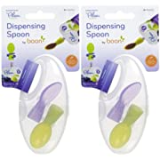 Boon Dispensing Spoon for Plum Organics - Purple/Green - 2 ct - 2 pk