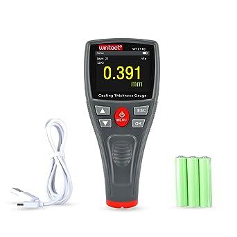 Durable Digital LCD Car Paint Thickness Gauge Probe Tester Meter Tools Measuring