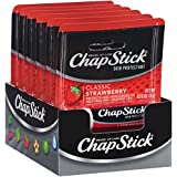 ChapStick Classic Skin Protectant (Strawberry, 0.15 oz. Stick, Pack of 24)