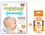 oogiebear - The Safe Baby Newborn Infant Nasal Booger Snot Remover and Ear Cleaner Tool and Oogie nosebalm - 1oz/29g Ointment - for Healing Baby's Nose, Cheeks, face & Delicate Skin - USDA Certified