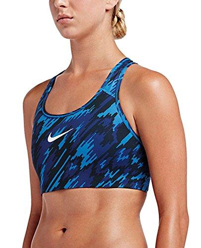 Nike Nike Pro clssc swsh ovrdrv Bra–lt Photo Blue/Deep Royal Blue/