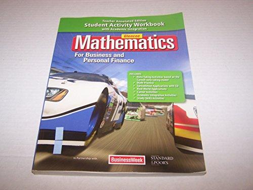 Math For Business Essentials & Personal Finance Workbook (Teacher Edition)