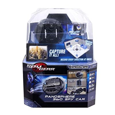 Spy Gear Panosphere 360-Degree Spy Cam: Toys & Games