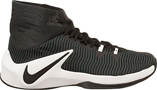 buy popular 62fcc ae0ba Galleon - NIKE Men s Zoom Clear Out Basketball Shoes 844372 002 Black Size  12