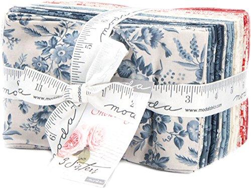 3 Sisters Snowberry Prints 30 Fat Eighths Moda Fabrics 44140F8 by Moda Fabrics