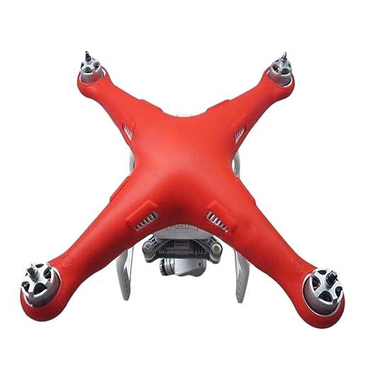 Topker - Carcasa Protectora de Silicona para dron dji Phantom 3 ...