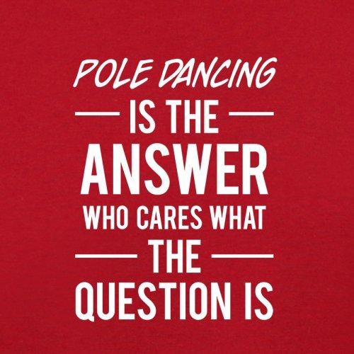 The Dancing Retro Answer Pole Is Red Flight Bag ZEdqww