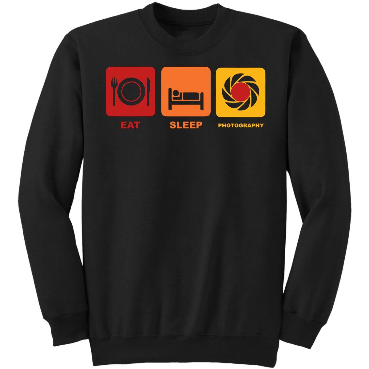 DoozyGifts99 Eat Sleep Photography-Photographer Men Sweatshirt