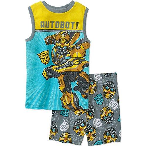 Transformers Autobot Bumblebee Shorts Pajama