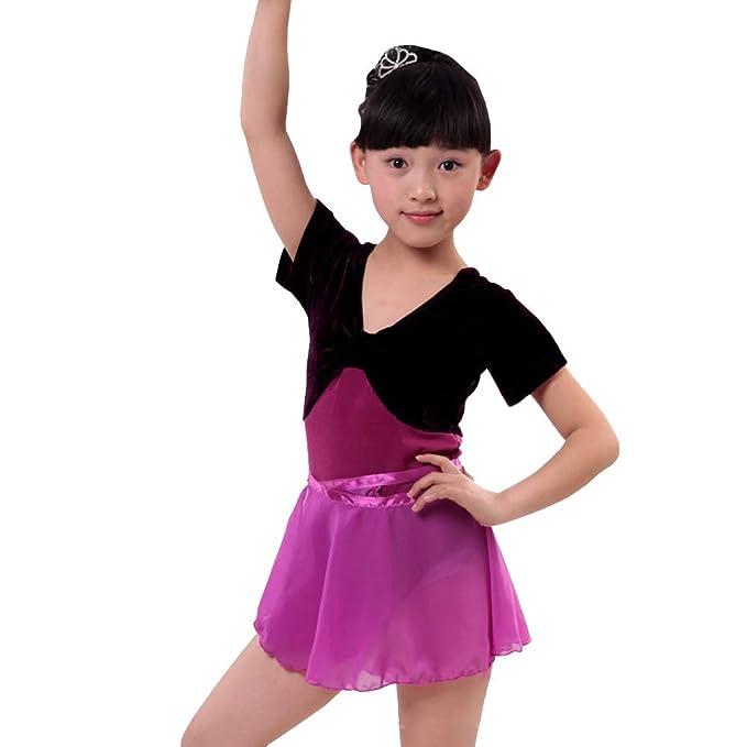 BOZEVON Traje de Baile para Niños - Competencia de ...