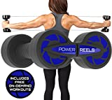 Amazon Prime Deals - POWER REELS – The #1 Most Effective Constant Resistance Fitness Products. Build stronger and leaner muscles, train anywhere & see faster results. (BLUE) 5lbs Resistance