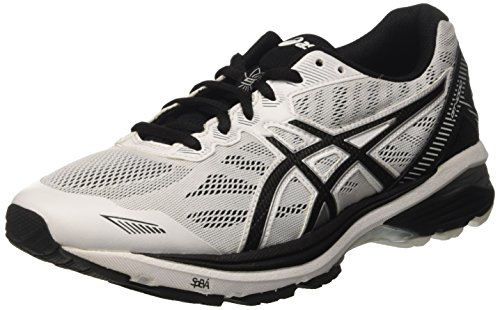 Asics Gt-1000 5 - Entrenamiento y correr Hombre Nero (White/Black/Silver)