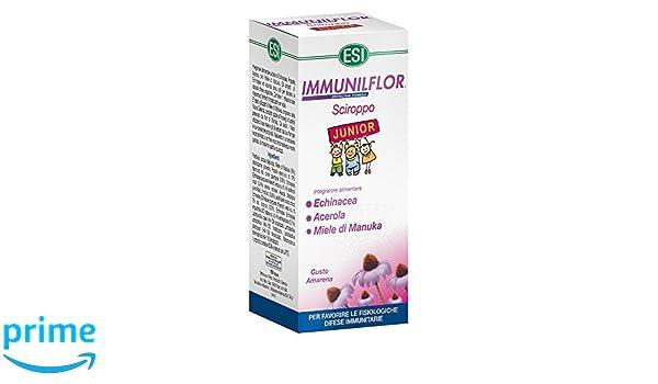 180ml ESI Immunil Jarabe junior Flor: Amazon.es: Salud y cuidado personal