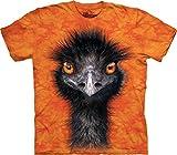 The Mountain Men's Emu T-Shirt, Orange, Large