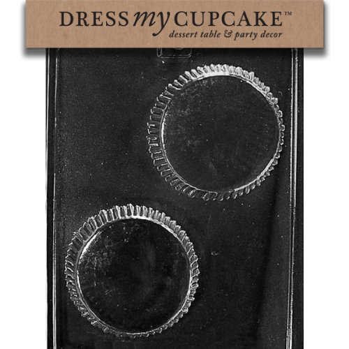Dress My Cupcake DMCAO137 Chocolate Candy Mold, Giant Peanut Butter Cup