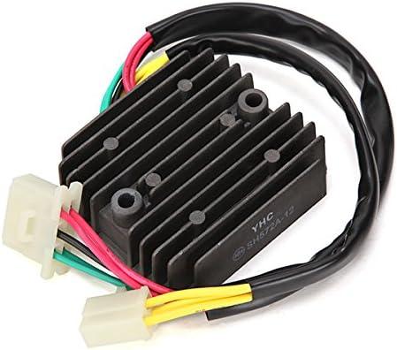 CALALEIE YHC-014 SH572A Regler Gleichrichter Stabilisator Spannung F/ür Honda VT700C VT1100C VT800C Shadow GL500 Motorraddekorationsteile neu