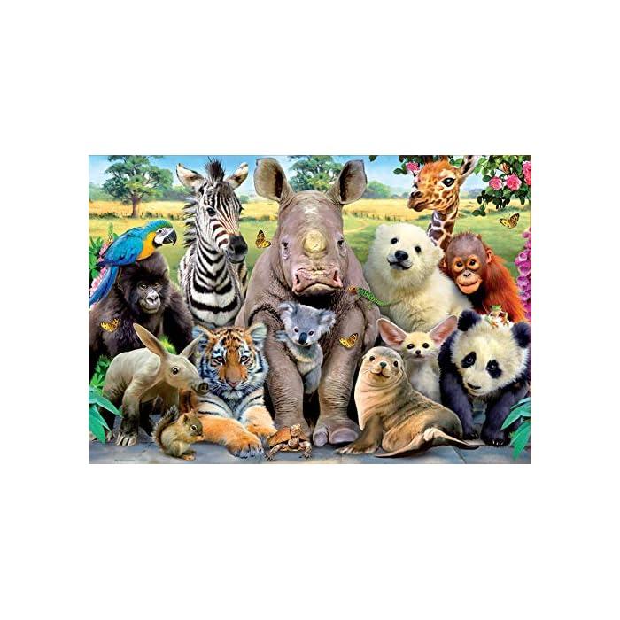 51zy309ugjL Puzzles de 300 piezas , horas de diversión y entretenimiento; dimensiones aproximadas del puzzle montado: 40 x 28 cm Puzzles inspirados en Foto de Clase Compuestos por grandes piezas, perfectamente acabadas para que sea sencilla y segura su manipulación por los niños