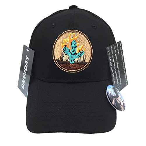 travis-scott-rodeo-hat-cap-tour-merch-cactus-travi-strapback-black-new