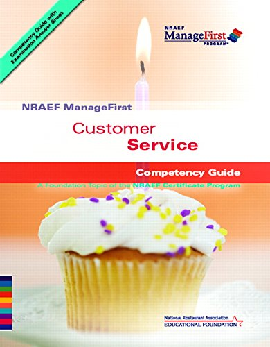 Customer Service Nraef Manage First Competency Guide,...
