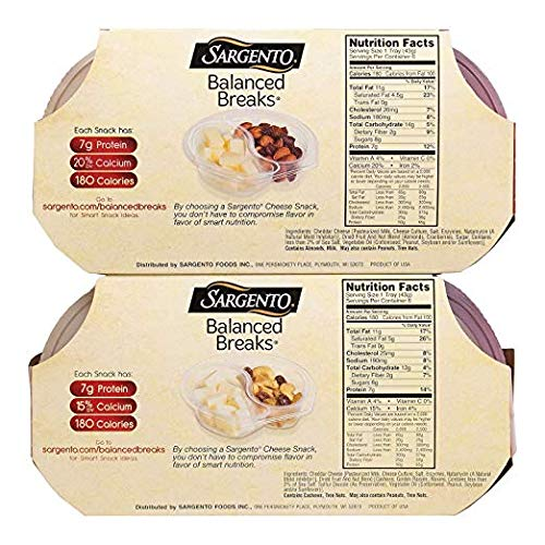 2 Pack of Sargento Balanced Breaks, 9 Ounce - (12 Count Per Pack)