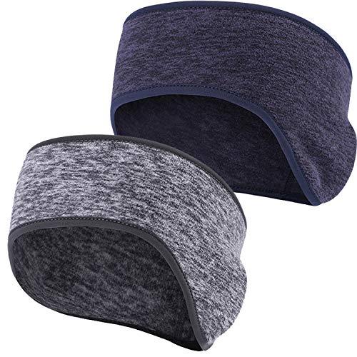 Obacle Ear Warmer Headband for Cold Weather Running Sweatband Sports Non Slip Thin Earmuff for Girls Women Men Fleece…