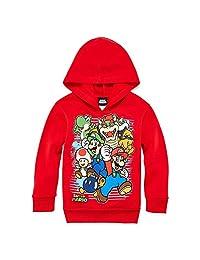 Super Mario Brothers Preschool Pullover Hoodie, Medium (size 5)