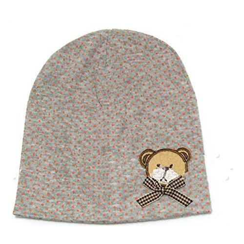 Capilene 2 Cap (Baby Boys Girls Toddler Cute Bear Cotton Cap Bow Hat)