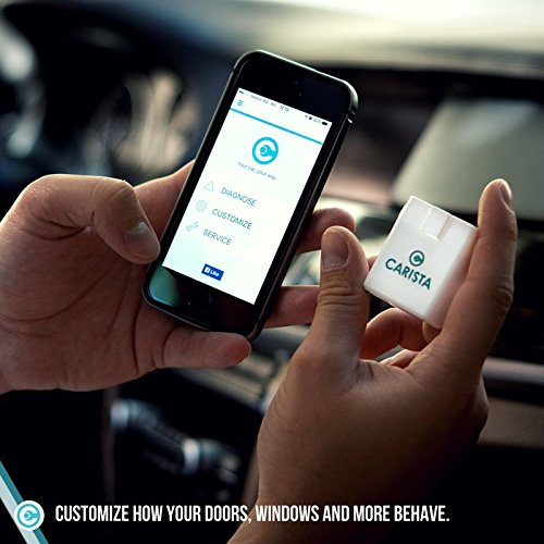 Carista is an OBD2 scanner for iPhone that has can diagnose a range of issues and provide good fixes