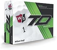 Wilson 2017 Staff True Distance Soft Golf Balls (One Dozen)