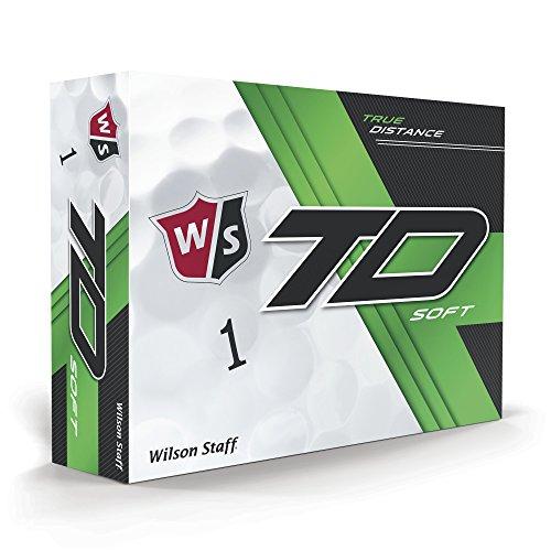 Wilson 2017 Staff True Distance Soft Golf Balls (One Dozen) from Wilson