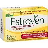 Estroven - Menopause Relief Maximum Strength - 180 Capsules , Estroven-jtwt