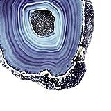 Indigo Agate C , 30x30in. (paper)