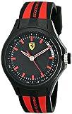 Ferrari Men's 0840002 Pit Crew Analog Display Quartz Black Watch