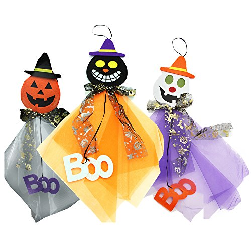 Baidercor Halloween Decoration Gifts Hanging Boo Ghost Assorted