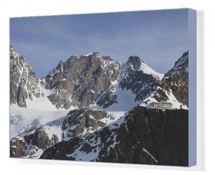Cuadros en lienzo de la Marinelli diseño de casetas de oculta en la parte inferior la