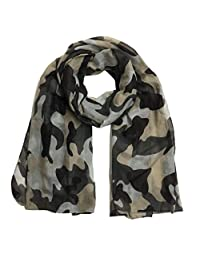 Women Scarf Winter Shawl Fashion Camouflage Scarf Soft Wrap Stole Pashmina Scarves